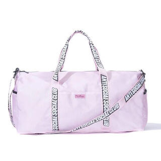 アンチ(ANTI)のANTI SOCIAL SOCIAL CLUB Pink Duffel Bag(ボストンバッグ)