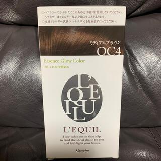 カネボウ(Kanebo)の新品未使用リクイール グロー ヘアカラー OC4 ミディアムブラウン(白髪染め)