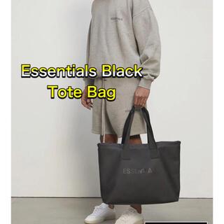 フィアオブゴッド(FEAR OF GOD)のFOG Essentials エッセンシャルズ トートバック ブラック(トートバッグ)