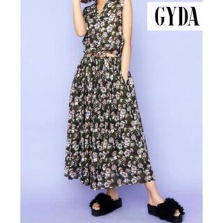 ジェイダ(GYDA)のGYDAオリジナルフラワーボリュームSK(ロングスカート)