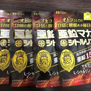 亜鉛マカ + シトルリン ♡ × 4(ダイエット食品)