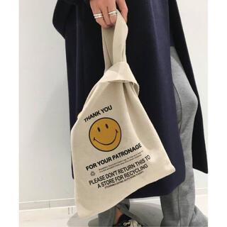 アパルトモンドゥーズィエムクラス(L'Appartement DEUXIEME CLASSE)の【GOOD GRIEF/グッドグリーフ】Smile Tote Bag(トートバッグ)
