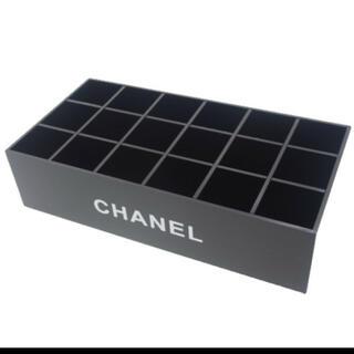 シャネル(CHANEL)のシャネル リップ立て 18コマ(メイクボックス)