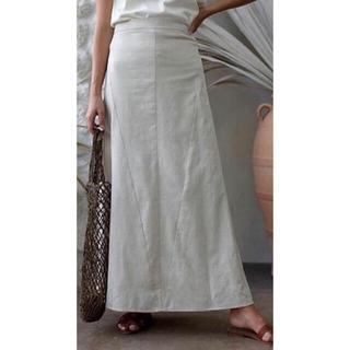 ルームサンマルロクコンテンポラリー(room306 CONTEMPORARY)のroom306contemporary リネンブレンドスカート(ロングスカート)