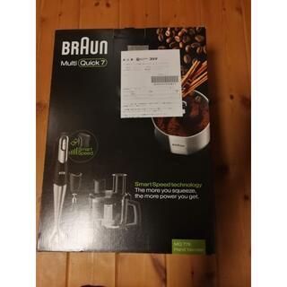 ブラウン(BRAUN)のマルチクイック7 MQ778(フードプロセッサー)