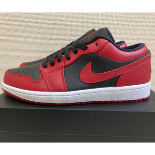 ナイキ(NIKE)の【新品 26.5cm】AIR JORDAN 1 LOW VARSITY RED(スニーカー)