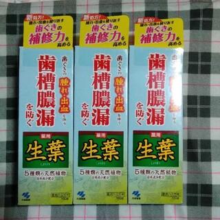 小林製薬 - 生葉(しょうよう)b ✕3本セット 小林製薬 薬用ハミガキ 歯磨き粉