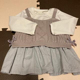 アカチャンホンポ(アカチャンホンポ)のSIMPLE FREE☆チュニック(Tシャツ/カットソー)