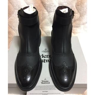ヴィヴィアンウエストウッド(Vivienne Westwood)の☆新品 未使用 ヴィヴィアンウエストウッド ブーツ 43サイズ☆(ブーツ)