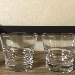 バカラ(Baccarat)のバカラ ロックグラス ベガ大×2(グラス/カップ)