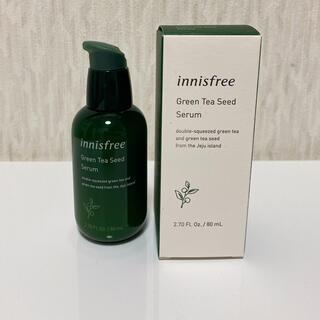 イニスフリー(Innisfree)のInnisfree  Green Tea Seed Serum 80ml(ブースター/導入液)