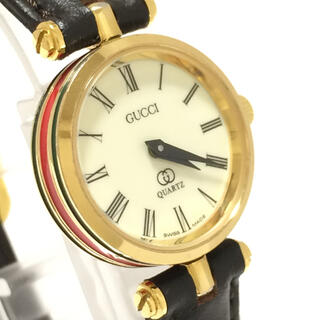 グッチ(Gucci)の5.美品 グッチ GUCCI 時計 シェリーライン(腕時計)