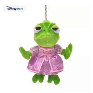 ディズニー(Disney)のディズニーストア ラプンツェル 10周年 パスカル ぬいぐるみキーチェーン(キャラクターグッズ)