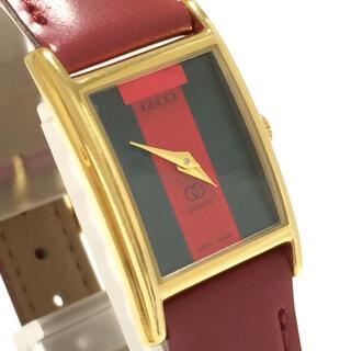 グッチ(Gucci)の7.グッチ GUCCI 時計 希少 1026L シェリーライン(腕時計)