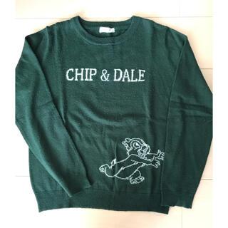 ディズニー(Disney)のチップとデール セーター(ニット/セーター)