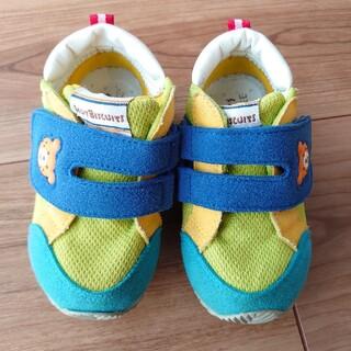 ホットビスケッツ(HOT BISCUITS)のミキハウス ホットビスケッツ 靴 14.0cm(スニーカー)