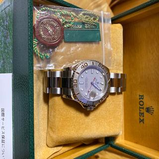 ロレックス(ROLEX)の売却済⭐️16622 美品ヨットマスター40mmメンズ.プラチナ(腕時計(アナログ))