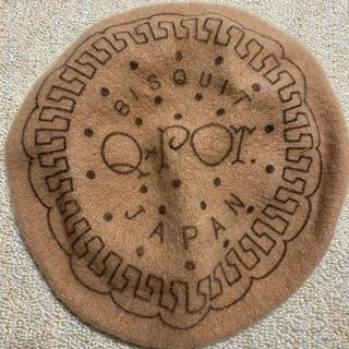 キューポット(Q-pot.)のQ-potキューポットビスケットベレー帽子 ロリィタガーリー(ハンチング/ベレー帽)