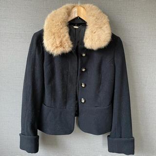 ミッシュマッシュ(MISCH MASCH)のミッシュマッシュ ショート丈コート(毛皮/ファーコート)