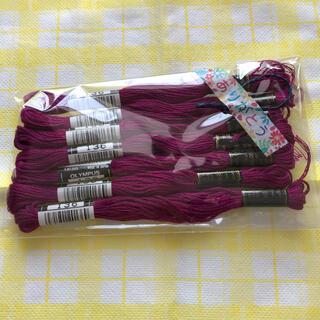 OLYMPUS - オリンパス刺繍糸ワイン