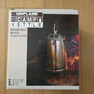 ユニフレーム(UNIFLAME)の【新品未使用】ユニフレーム キャンプケトル 1.6L(調理器具)