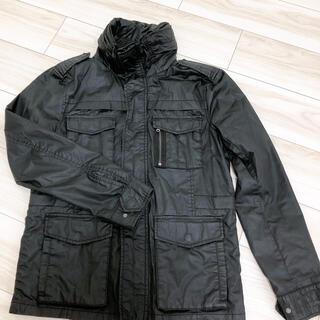 エイチアンドエム(H&M)のH&M ジャンパー ジャケット サイズ44 ブラック(ナイロンジャケット)