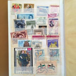 外国の使用済切手(使用済み切手/官製はがき)