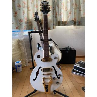 エピフォン(Epiphone)のエピフォン ワイルドキャット ホワイト エレアコ(エレキギター)