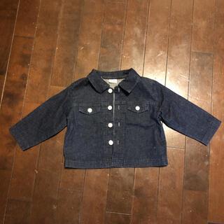 ベビーディオール(baby Dior)の美品baby Diorデニムシャツジャケット(シャツ/カットソー)