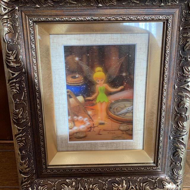 Disney(ディズニー)のディズニー ティンカーベル 壁掛け 3D エンタメ/ホビーの美術品/アンティーク(絵画/タペストリー)の商品写真