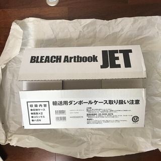 シュウエイシャ(集英社)のBLEACH イラスト集 JET(イラスト集/原画集)
