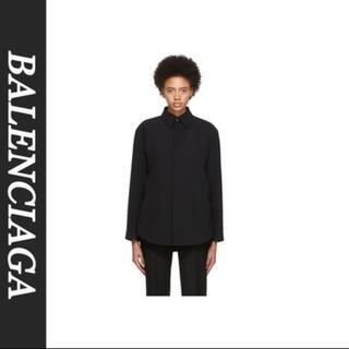 Balenciaga - 探)balenciaga tailored shirt jacket