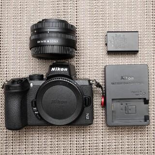 Nikon z50 キットレンズ+純正バッテリー×2(ミラーレス一眼)