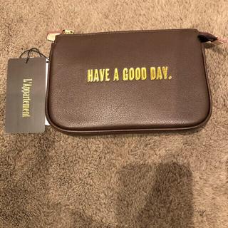 アパルトモンドゥーズィエムクラス(L'Appartement DEUXIEME CLASSE)の新品 GOOD GRIEF/グッドグリーフ Cellular phone Bag(ポーチ)