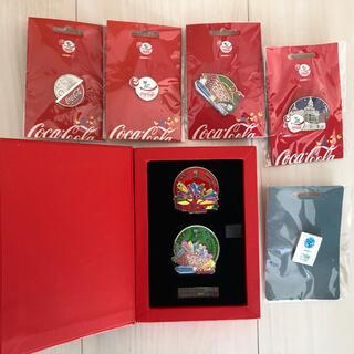 コカコーラ(コカ・コーラ)のコカコーラ  Coca-Cola 上海万博公式ピンバッジ 新品(バッジ/ピンバッジ)