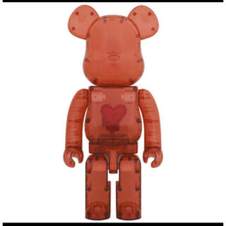 BE@RBRICK Clear Red Heart 1000%(フィギュア)