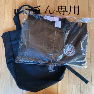 シマムラ(しまむら)の新日本プロレスしまむらコラボ ジャケット(Lサイズ)、2WAYバッグ 新品未使用(格闘技/プロレス)