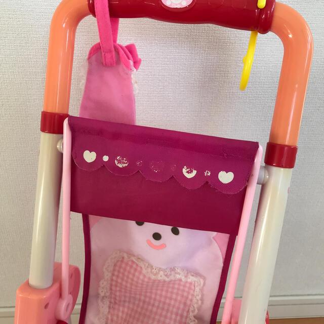 PILOT(パイロット)のメルちゃん ベビーカー、トイレ、ハンガー、くし セット キッズ/ベビー/マタニティのおもちゃ(ぬいぐるみ/人形)の商品写真