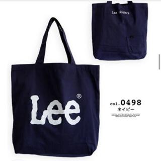 リー(Lee)の未使用 Lee  トートバッグ ネイビー(トートバッグ)