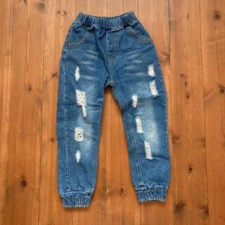 エフオーキッズ(F.O.KIDS)の韓国子供服のデニムパンツ ダメージ加工 120cmくらい?(パンツ/スパッツ)