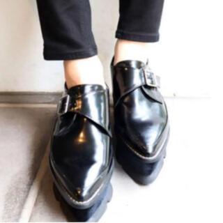 ムルーア(MURUA)のMURUA ベロア ローファー(ローファー/革靴)