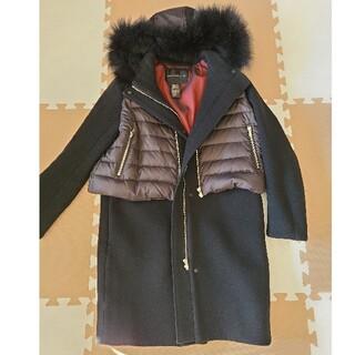 ダブルスタンダードクロージング(DOUBLE STANDARD CLOTHING)のダブスタダウンMIXコート 36 (ロングコート)