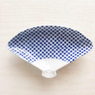 アクタス(ACTUS)の東屋 印判豆皿 扇(食器)