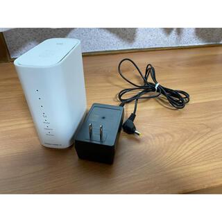 エヌイーシー(NEC)のUQ WiMAX HOME02 ホーム ルーター 本体とACアダプター(その他)