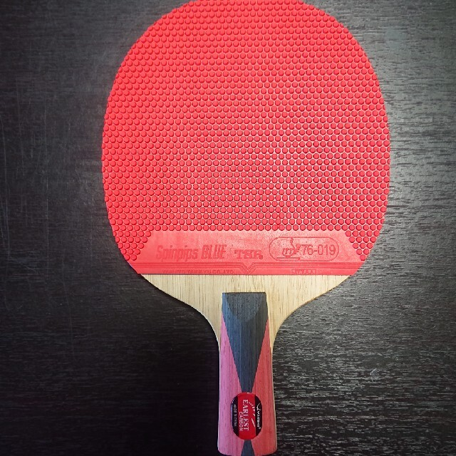Yasaka(ヤサカ)の卓球ラケット ヤサカ「アーレストカーボン」中国式 スポーツ/アウトドアのスポーツ/アウトドア その他(卓球)の商品写真