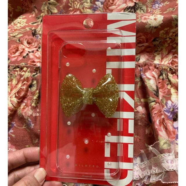 MILKFED.(ミルクフェド)の新品 ミルクフェド iPhoneケース スマホ/家電/カメラのスマホアクセサリー(iPhoneケース)の商品写真