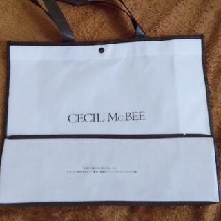セシルマクビー(CECIL McBEE)の送料込み☆セシルマクビー ショッピングバック(ショップ袋)