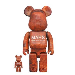 メディコムトイ(MEDICOM TOY)の【新品未開封】BE@RBRICK MARS 100% & 400%(その他)