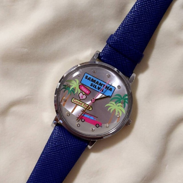 Samantha Silva(サマンサシルヴァ)のサマンサシルヴァ アナログ 腕時計 サマンサティアラ レディースのファッション小物(腕時計)の商品写真