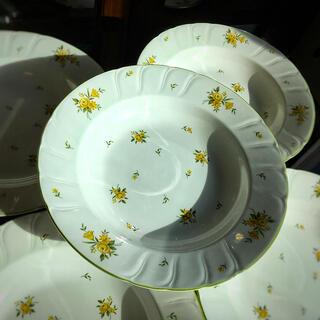 ノリタケ(Noritake)のノリタケ   クラフトーン  カレースープ皿5枚セット(食器)